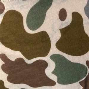9bad6edd Madewell Tops | Whisper Cotton Crewneck Tee In Camo Print | Poshmark